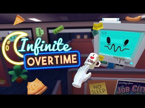 You love Overtime? , How About Infinite Overtime! - Job Simulator VR (PS4 PRO)