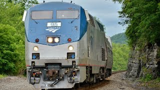 HD: Amtrak Special: Picking Up New Phase III Diner Cars from CAF USA