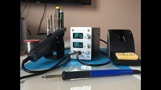 KSGER Паяльник Hakko Т12 + паяльный фен на контроллере STM32