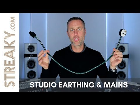 STUDIO EARTHING & MAINS DISTRIBUTION - MASTERING, RECORDING & MIXING STUDIO - Streaky.com