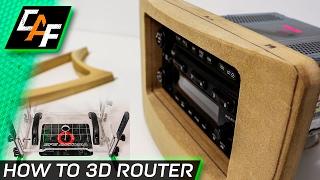 ADVANCED 3D Router Technique - Add INSANE shape - SFS Animal