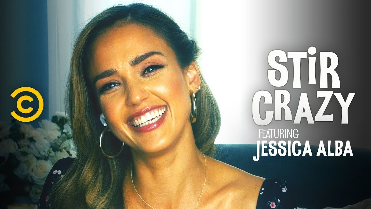 Jessica Alba Teaches Josh How to Hit the Woah - Stir Crazy with Josh Horowitz