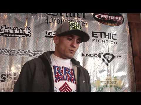 Sean Richman Pre Fight Interview