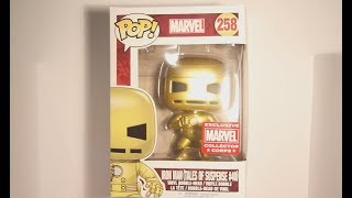 Iron Man (Gold Tales of Suspense) Funko POP Vinyl