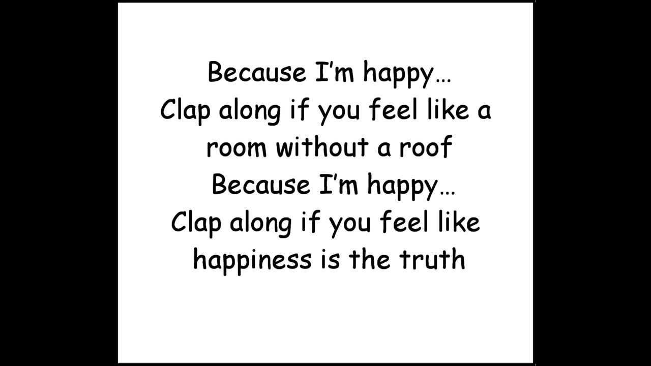 Pharrell Williams - Happy (Lyrics/Testo) - YouTube