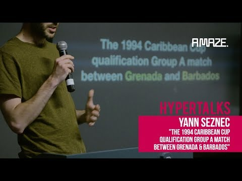 [Hyper Talks] Yann Seznec: The 1994 Caribbean Cup Qualification Group A Match Grenada vs Barbados