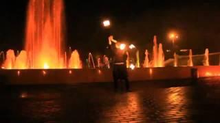 Танцующие и поющие фонтаны в городе Иваново