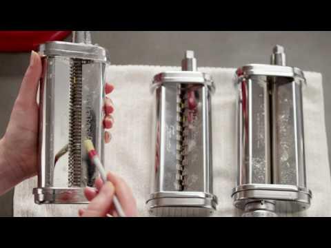 KITCHENAID 抬頭式多功能廚師機-壓麵滾筒 (KSMPSA) 相關視頻