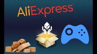 РАСПАКОВКА и ОБЗОР ТОВАРОВ с ALIEXPRESS, Games + КОНКУРС
