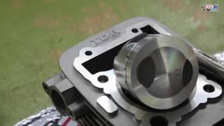 Kawasaki KLX 125 Modify TDR KIT By API Tech