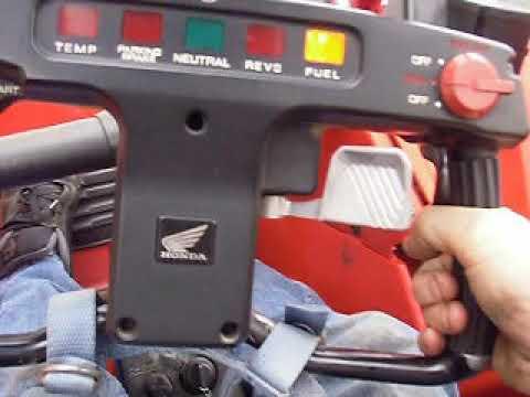 1989 Honda Fl400 Pilot #188 Running Driving Video