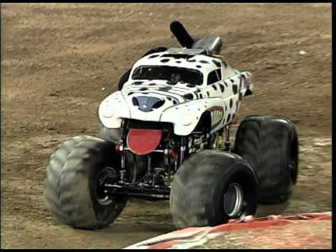 Monster Jam Monster Mutt Dalmatian Monster Truck Invades Angel
