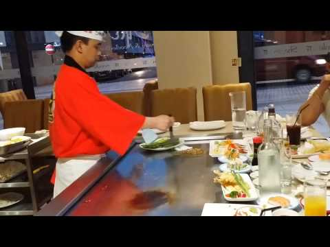 Birmingham UK - Shogun Japanese Restaurant