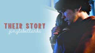 Bellamy & Clarke || Their Story [1×01 - 4×13] (video unavailable? see description)