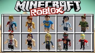 ROBLOX INSIDE THE MINECRAFT!!