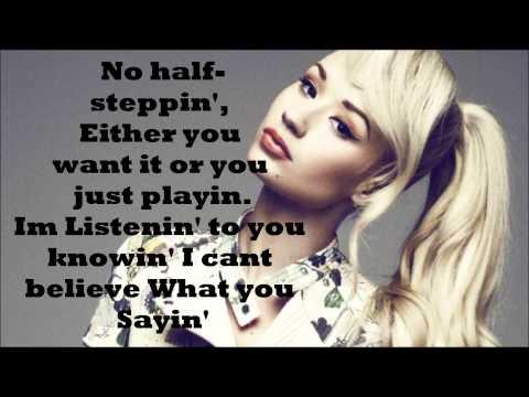 Ariana Grande - Problem (Iggy Azalea) Rap Part LYRICS