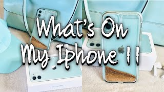 WHATS ON MY IPHONE 11 2020* | CUSTOMIZING | APPS