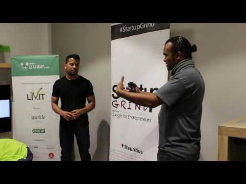 Startup Grind Port-Louis Hosts Nandu Tangella ( First UX )