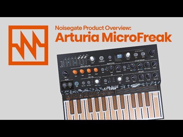 ARTURIA MicroFreak: Overview & Demo
