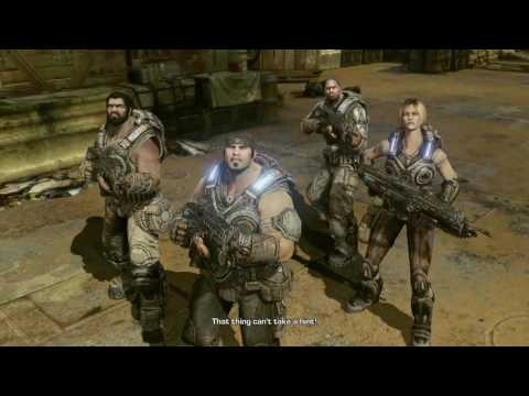 GEARS OF WAR 3 PLAYTHROUGH #2   PAY ATTENTION SAM