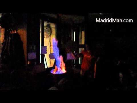 """Queimada"" At Taberna Maceiras In Madrid Spain 2011"