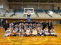 2020年愛知県中学バスケットボール、新人大会県大会男子優勝、豊橋南部中学校