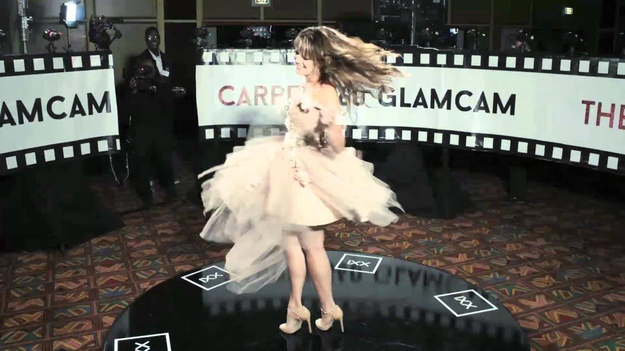 Long dress red carpet 360