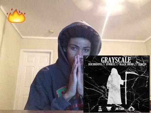 $UICIDEBOY$ X JGRXXN X BLACK SMURF X RAMIREZ - GRAYSCALE (REACTION)