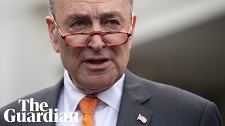 'He just walked out': Schumer on meeting with Trump over shutdown