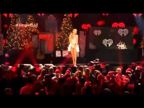 Ariana grande z100 jingle ball 2013 madison square garden 12 13 2013 youtube for Jingle ball madison square garden