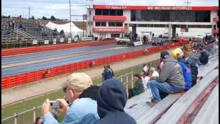 Pure Stock Muscle Car Drags 2014