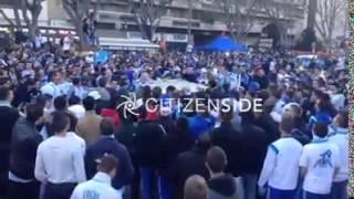 Parisiens a Marseille. Choc !!