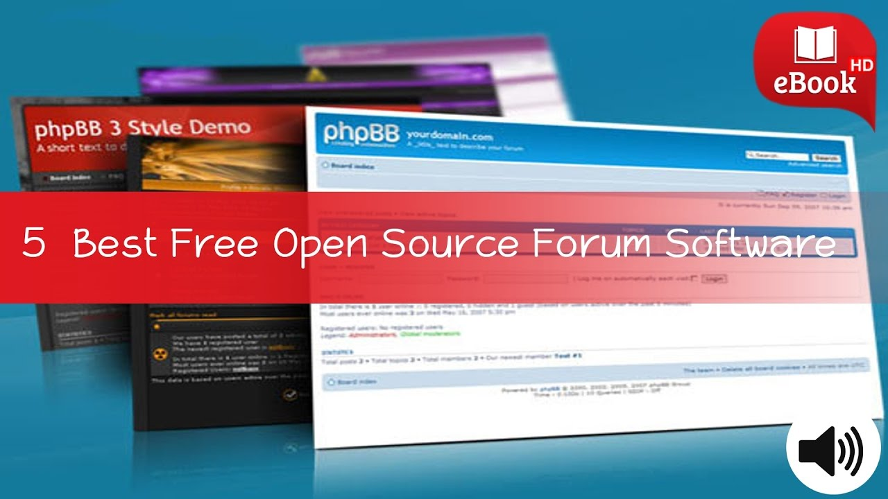 5 Best Free Open Source Forum Software to Setup own Discussion Forum