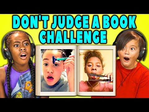 Download Youtube: KIDS REACT TO VIRAL CHALLENGES (Don't Judge A Book By Its Cover)