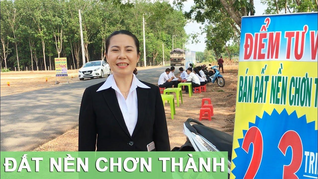 Đất nền Nha Bích Chơn Thành Bình Phước 2019