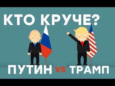 Путин и Трамп - Сравнение. Президент России и США - Сколько денег у Путина? - Шоу фактов - Лучшие видео поздравления [в HD качестве]