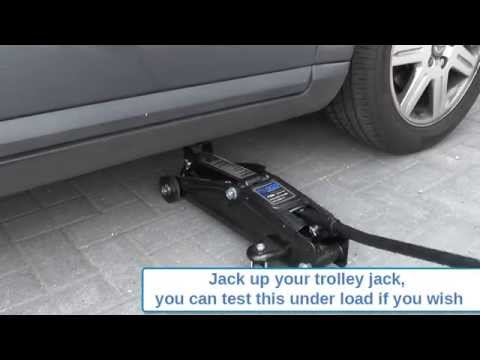 How To Air Purge Your Trolley Jack If It Won't Lift