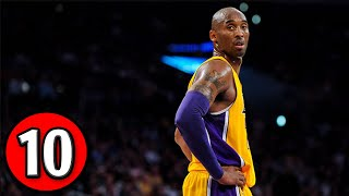 Kobe Bryant Top 10 Plays of Career