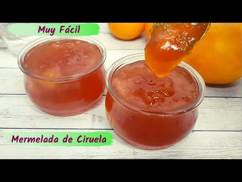 MERMELADA DE CIRUELAS - Receta muy Fácil