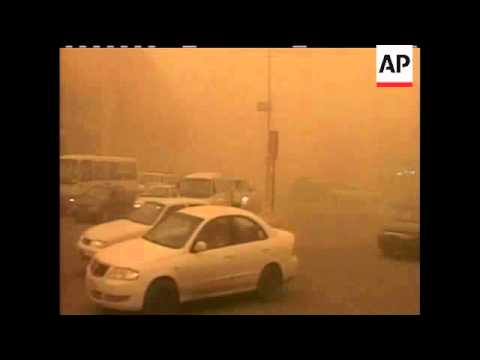 Heavy sandstorms blanketed Iraq's capital Baghdad and other provinces on Thursday, causing traffic c