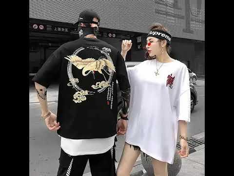 HÃY TRAO CHO ANH – Áo thun unisex from rộng tay lở – Nam/Nữ mặc đều đẹp dưới 70kg