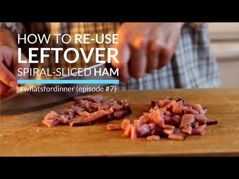 Healthy Way To Re-Use Leftover Ham | What's For Dinner Episode 7