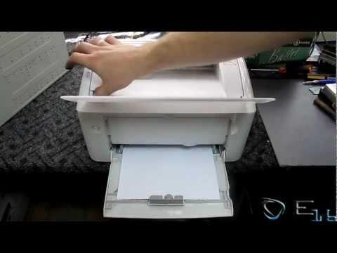 Дефекты печати HP 1005. Черные полосы, разводы на листе.