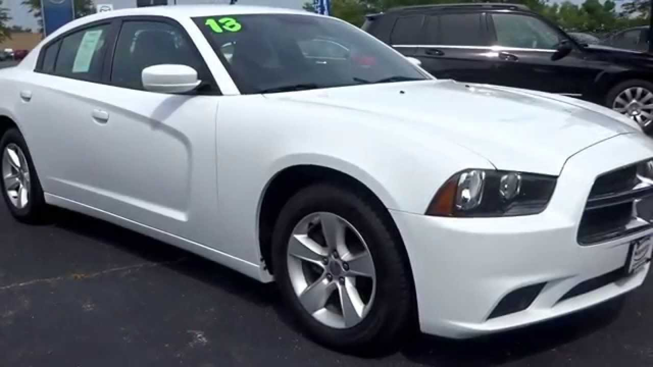 used white 2013 dodge charger se - White Dodge Charger