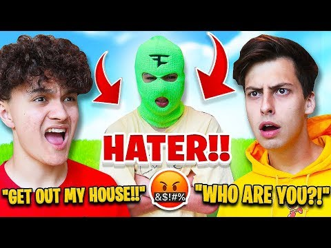 FaZe Jarvis' Biggest Hater Breaks into FaZe House *PRANK*
