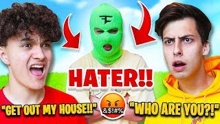 Download FaZe Jarvis' Biggest Hater Breaks into FaZe House *PRANK* Mp3 and Videos