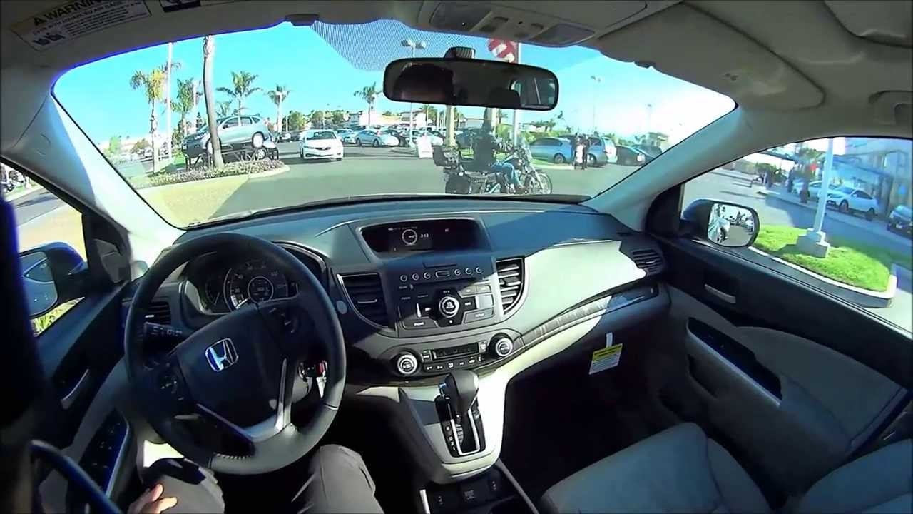Test Drive Cr Honda V 2013
