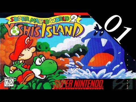 [01] Yoshi's Island (SNES) Playthrough