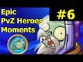 BRUTAL   PvZ Heroes Highlights And Glitches #6