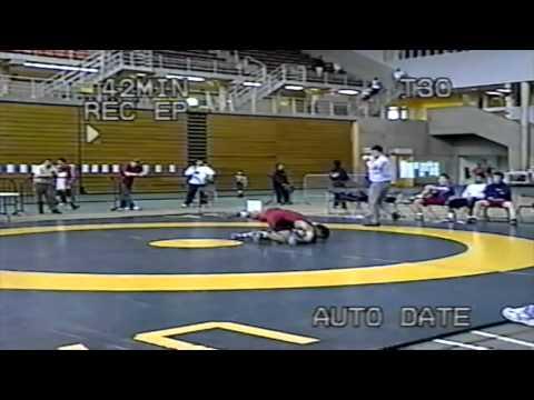 2004 Canada West Championships: 90 kg Roozbeh Banihashemi (SFU) vs. Tim Kent (SASK)